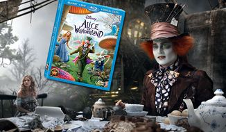 Johnny Depp stars as the Mad Hatter in Walt Disney Studios Home Entertainment's Alice in Wonderland, now available in Blu-ray.