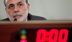 Federal Reserve Chairman Ben S. Bernanke listens during a House Budget Committee hearing on the state of the economy in Washington on Wednesday, June 9, 2010. Mr. Bernanke said the U.S. central bank will act as needed to aid financial stability and economic growth after restarting emergency currency-swaps to help contain Europe's debt crisis. Photographer: Andrew Harrer/Bloomberg