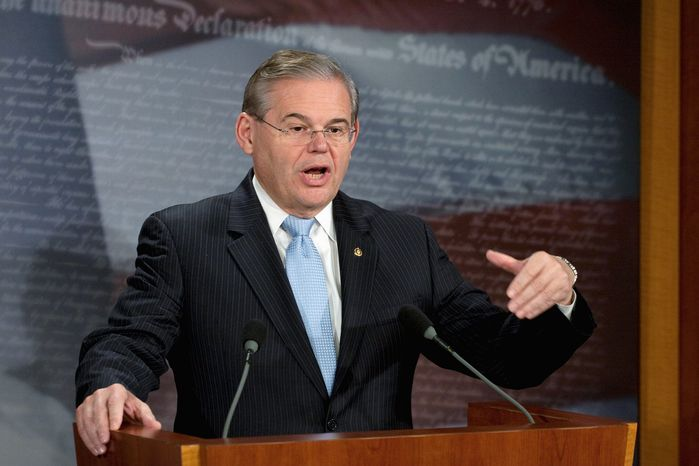 Sen. Robert Menendez, New Jersey Democrat (Associated Press)