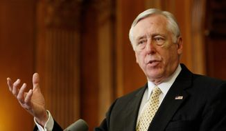 Associated Press House Majority Leader Steny H. Hoyer, Maryland Democrat, said this week that tapping unspent economic-stimulus funds to help save teachers' jobs is worth considering.