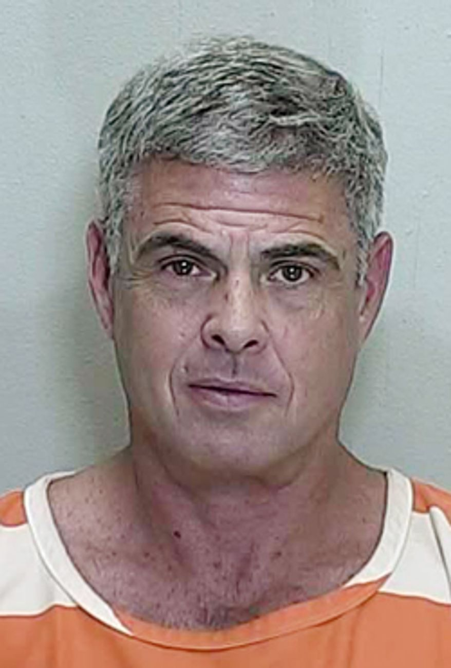 This photo provided by the Marion County Sheriff's Office, Fla., shows Lee Bentley Farkas. A federal grand jury has indicted Farkas for allegedly engaging in a fraud scheme that misappropriated $1 billion from the government's Troubled Assets Relief Program and other targets. (AP Photo/Marion County Sheriff's Office)
