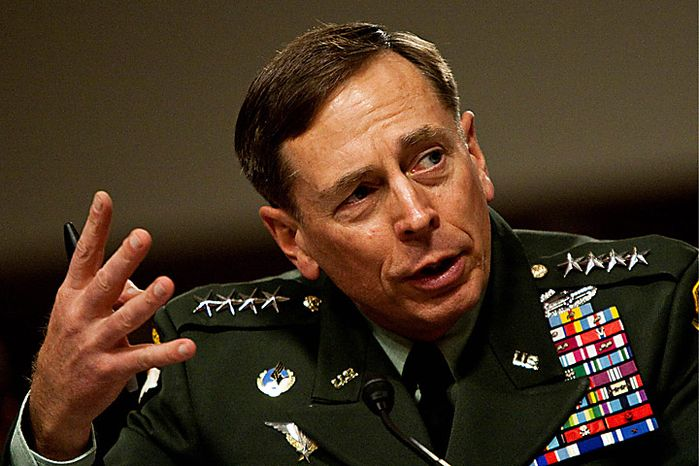 Gen. David Petraeus, commander of the U.S. Central Command, testifies before the Senate Armed Services Committee in Washington, Wednesday, June 16, 2010. (AP Photo/Drew Angerer)