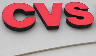 ** FILE ** CVS Caremark. (AP Photo/Lisa Poole, file)