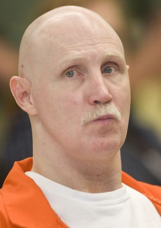 Ronnie Lee Gardner was executed by firing squad at midnight on June 18, 2010, at the Utah State Prison in Draper, Utah. (AP Photo/Trent Nelson, Pool)
