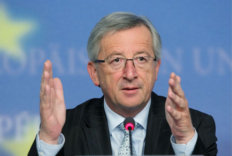 BLOOMBERG NEWS Jean-Claude Juncker, Luxembourg's prime minister, who also heads the Eurogroup of eurozone finance ministers, welcomed the flexibility decision by China about the yuan.