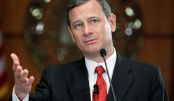 ** FILE ** Chief Justice of the United States John G. Roberts Jr. (AP Photo)