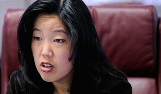 D.C. schools Chancellor Michelle A. Rhee said she has some concerns about the D.C. Healthy Schools Act, among them the fact that some schools do not have cafeterias or kitchens. (The Washington Times)