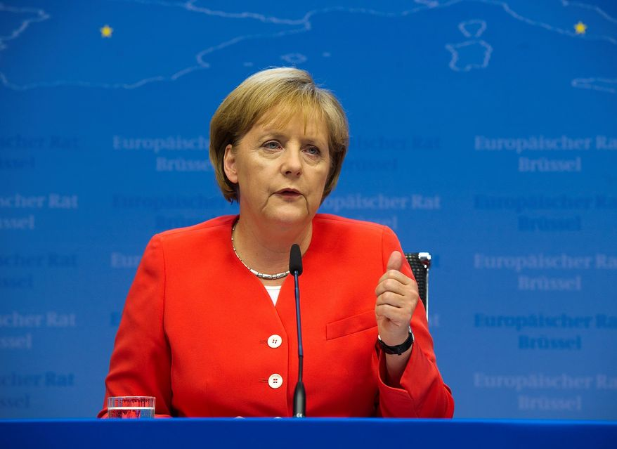"BLOOMBERG Angela Merkel, Germany's chancellor, says that the nearly $100 billion of budget cuts she has announced in Germany would not ""slow down the global economy,"" as President Obama contends."