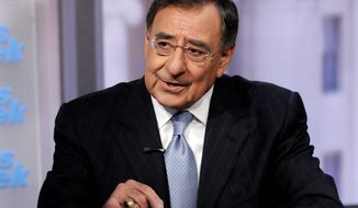 "ABC via Associated Press CIA Director Leon E. Panetta, on ABC's ""This Week,"" expressed doubts that sanctions would deter Iran's nuclear ambitions."