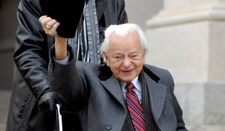The Washington Times FAREWELL: Sen. Robert C. Byrd, who died early Monday, secured more than $3 billion in earmarked spending for West Virginia.