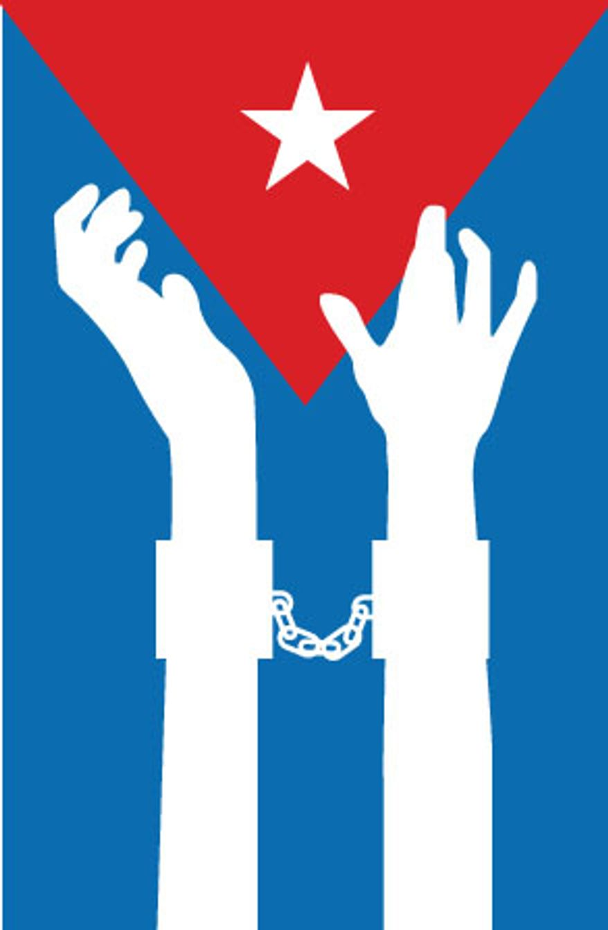 Illustration: Cuba by Linas Garsys for The Washington Times