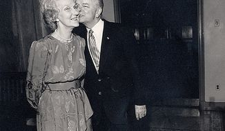 Senator Robert and Erma Byrd on May 28, 1987. ( Shayna Brennan / The Washington Times )