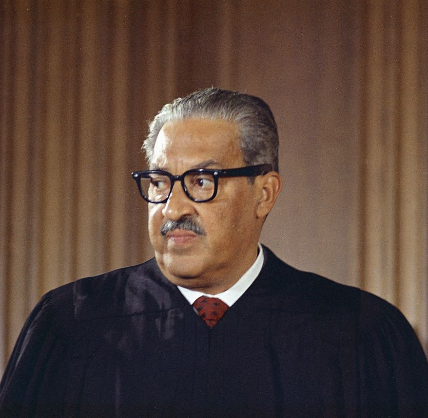 Supreme Court Justice Thurgood Marshall (Associated Press)