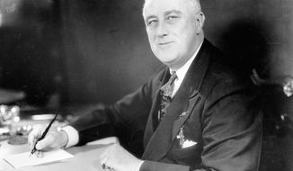 This is a photograph of Franklin D. Roosevelt taken on Jan. 19, 1937. (AP Photo)