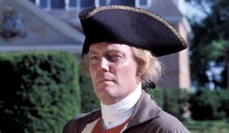 William Barker is a historical interpreter who portrays Thomas Jefferson at Colonial Williamsburg and elsewhere.