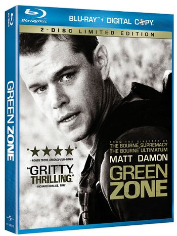 Green Zone: Limited Edition from Universal Studios Home Video