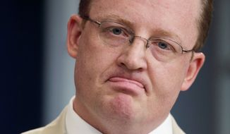 ** FILE ** Former White House press secretary Robert Gibbs. (Associated Press)