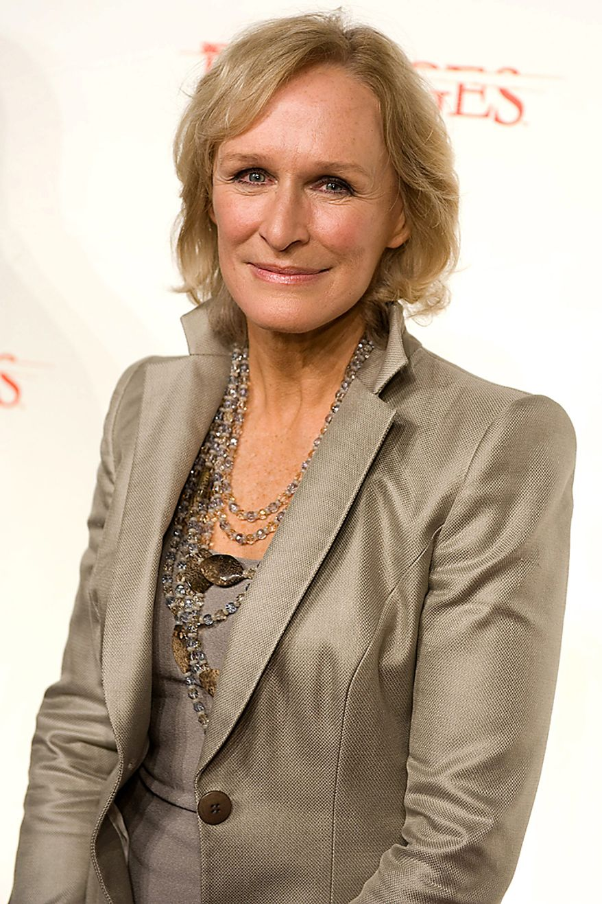 "In this Jan. 19, 2010, file photo, actress Glenn Close attends the premiere screening for season three of FX's legal thriller ""Damages"" in New York. Close was nominated for an Emmy on Thursday, July 8, 2010, for best actress in a drama series for her role in ""Damages."" The 62nd Primetime Emmy Awards will be held on Sunday, Aug. 29, in Los Angeles. (AP Photo/Charles Sykes, file)"