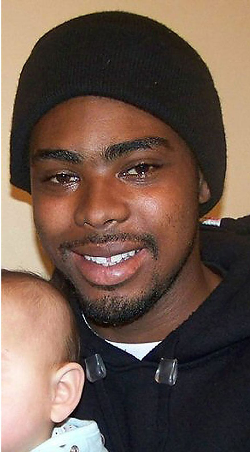 This undated family photo provided by the Law Offices of John Burris shows Oscar Grant, a 22-year-old transit rider who was shot and killed by Bay Area Rapid Transit police on New Year's Day 2009. On Thursday, July 8, 2010, a jury in Los Angeles found former Bay Area Rapid Transit officer Johannes Mehserle guilty of involuntary manslaughter. (AP Photo/Family photo via the Law Offices of John Burris)