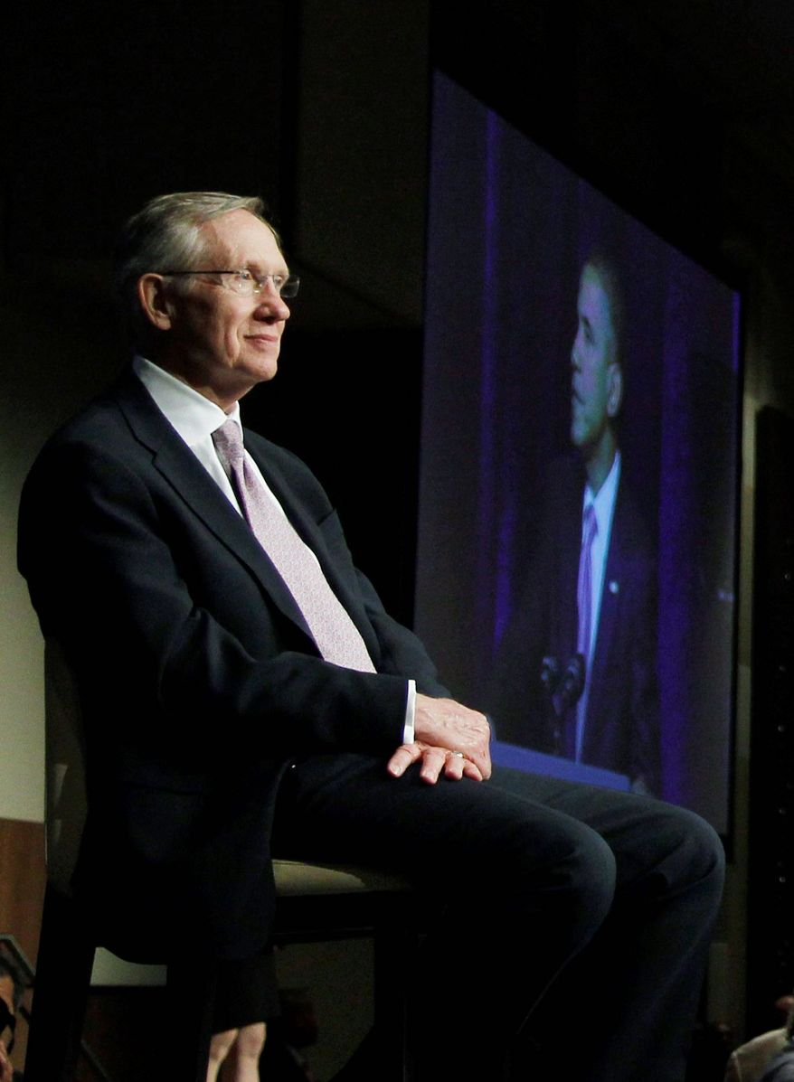 ASSOCIATED PRESS NUCLEAR FORCE: Senate Majority Leader Harry Reid can use the Yucca Mountain issue to remind voters of his clout.