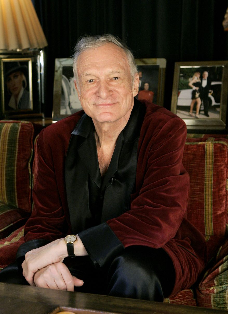 Playboy Enterprises Inc. said Monday, July 12, 2010, that its iconic founder, Hugh Heffner, is offering to buy the remaining shares of the media empire, taking the company private, in a deal that values the company at $185 million.(AP Photo/Kevork Djansezian, File)