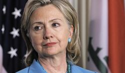 **FILE** Secretary of State Hillary Rodham Clinton (Associated Press)