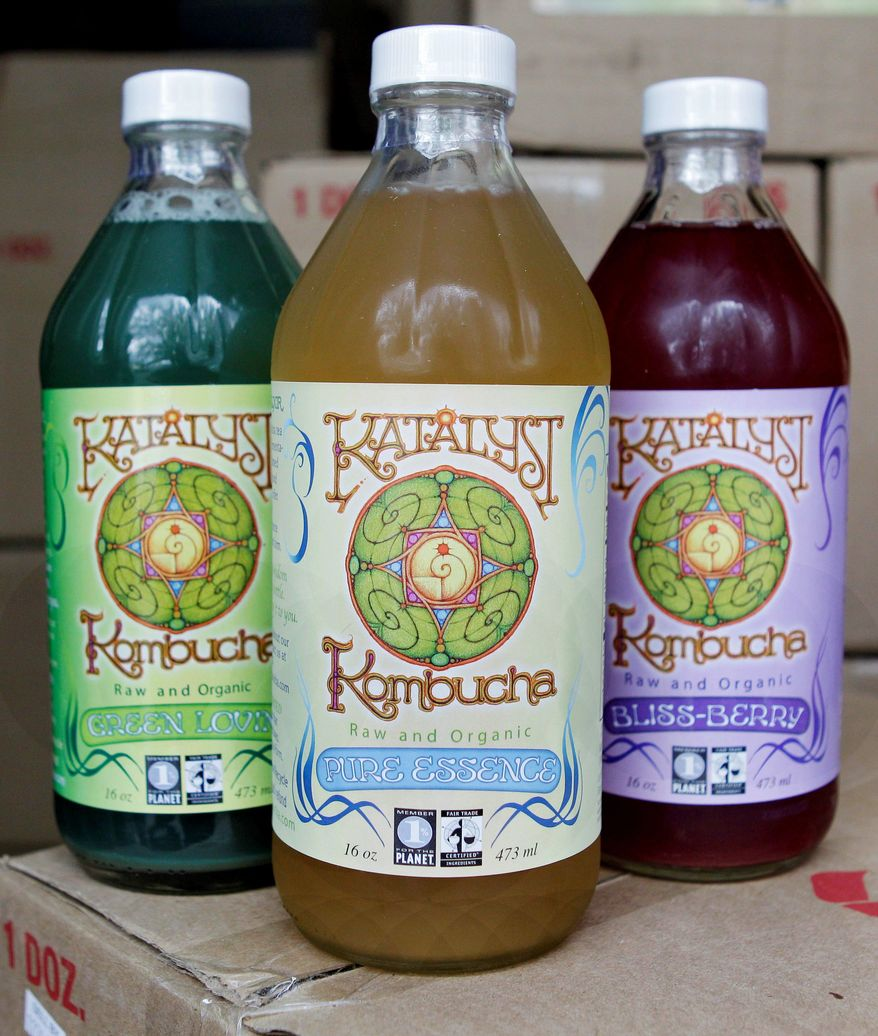 Regulators and retailers are concerned that kombucha may need to be regulated as an alcoholic drink because some bottles of the fermented tea have more than 0.5 percent alcohol.