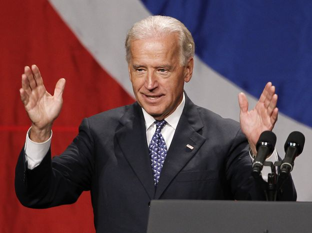 ASSOCIATED PRESS Vice President Joe Biden speaks at the annual Tennessee Democratic Party Jackson Day on Friday, July 16, 2010 in Nashville, Tenn.