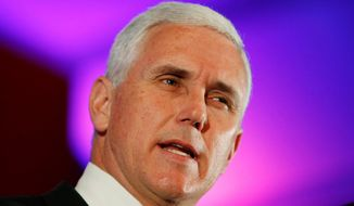 **FILE** Indiana Gov. Mike Pence. (AP Photo)