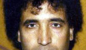 This is an undated file photo, issued by the Crown Office, of Abdel Baset al-Megrahi, the Libyan man found guilty of the Lockerbie bombing. (Associated Press/Crown Office, File)