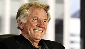 Former Sen. Gary Hart, Colorado Democrat who twice ran for president, is pictured in 2003. (Associated Press) ** FILE **