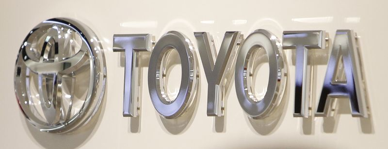 This Feb. 2, 2010, photo shows the corporate sign of Toyota Motor Corp. at a showroom of the Japanese automaker in Nagoya, central Japan. Toyota Motor Corp. said Tuesday it has been subpoenaed by a federal grand jury in New York to submit documents related to problems with rods that connect a vehicle's steering system to its front wheels. (AP Photo/Shizuo Kambayashi)