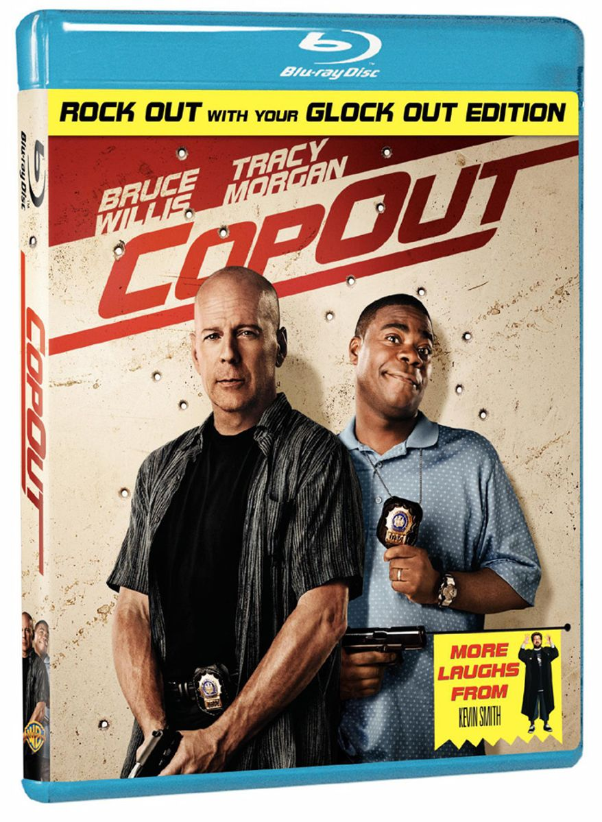 "Warner Home Video's ""Cop Out"" arrives on Blu-ray."
