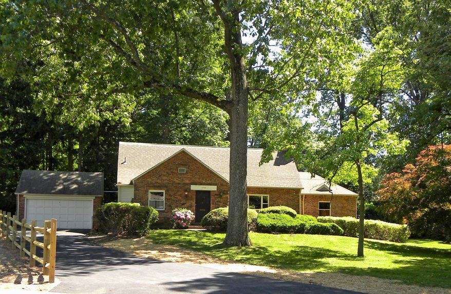 The home at 5708 Little Falls Road in Arlington is on the market for $899,000. The five-bedroom home was built in 1937.