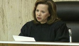 This undated photo taken from video and provided by KSAZ-TV FOX 10, shows U.S. District Judge Susan Bolton on the bench in Phoenix, Ariz. Bolton, a former state court judge appointed to the federal bench in 2000 by President Bill Clinton, will decide whether to block Arizona's sweeping new immigration law, which requires police, while enforcing other laws, to question a person's immigration status if officers have a reasonable suspicion that the person is in the country illegally. (AP Photo/KSAZ-TV FOX 10)