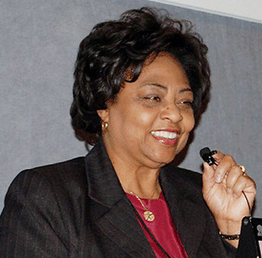 An undated photo provided by the U.S. Department of Agriculture shows former USDA official Shirley Sherrod, who was fired this week after brief comments she made in a March speech were taken out of context. (AP Photo/United States Department of Agriculture)