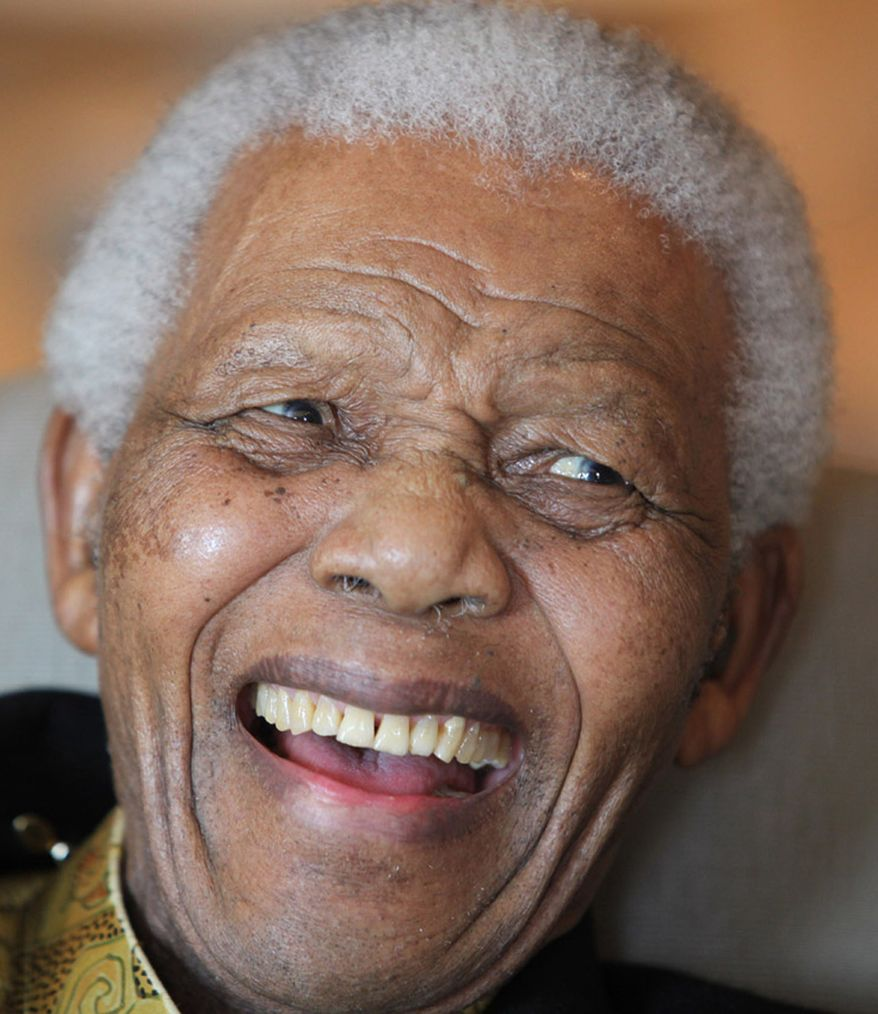 This July 8, 2010 photo supplied by the Nelson Mandela Foundation on Thursday, July 15, 2010, shows former South African President Nelson Mandela. Mr. Mandela celebrated his 92nd birthday this week. (AP Photo/Debbie Yazbek-Nelson Mandela Foundation)