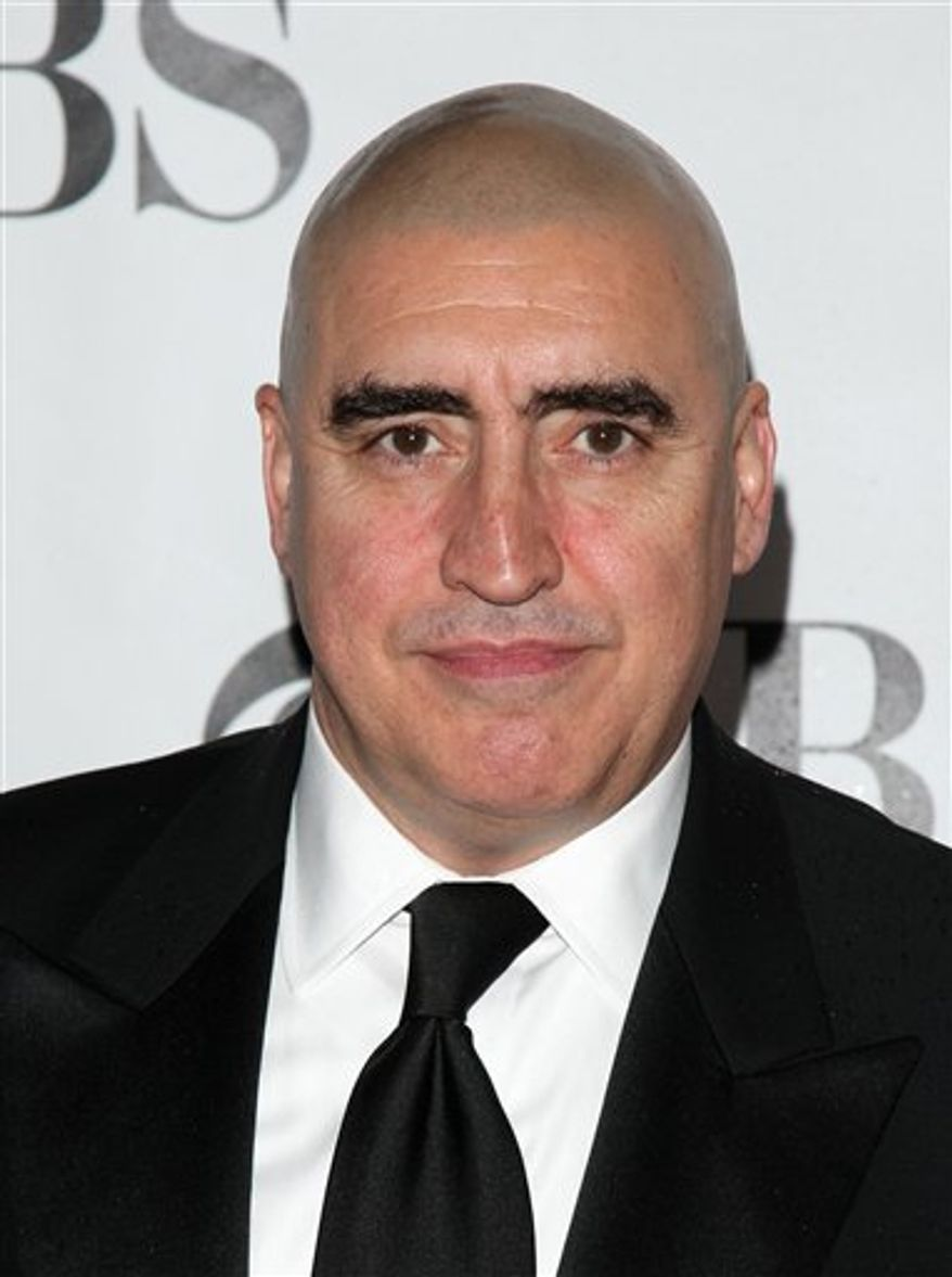 "FILE - In this  June 13, 2010 file photo, Alfred Molina arrives at the 61st Annual Tony Awards in New York.  Film and Broadway actor Alfred Molina is joining the cast of ""Law & Order: Los Angeles."" The new NBC drama's executive producer, Dick Wolf, said Saturday, July 24, 2010 that Molina joins a list of outstanding character actors who have been part of the ""Law & Order"" group of series. (AP Photo/Peter Kramer, File)"