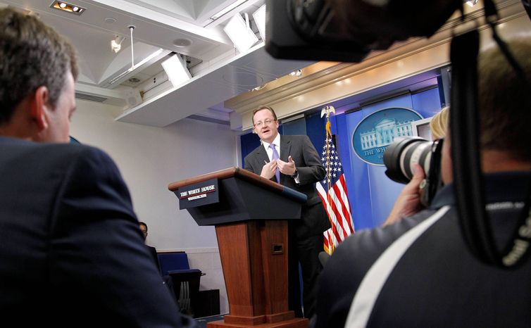"""White House press secretary Robert Gibbs said the data leak does not raise any doubts about Pakistan's reliability as a key ally in the war against terrorism, adding that the U.S. has """"certainly known about safe havens in Pakistan."""" (Associated Press)"""