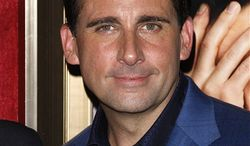 """FILE - In this July 19, 2010 file photo, actor Steve Carell attends the premiere of """"Dinner For Schmucks"""" at The Ziegfeld Theater, in New York. (AP Photo/Peter Kramer, file)"""