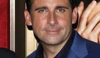 "FILE - In this July 19, 2010 file photo, actor Steve Carell attends the premiere of ""Dinner For Schmucks"" at The Ziegfeld Theater, in New York. (AP Photo/Peter Kramer, file)"