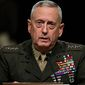 Then-U.S. Central Command Commander-nominee Marine Corps Gen. James Mattis testifies on Capitol Hill in Washington, Tuesday, July 27, 2010, before the Senate Armed Services Committee hearing on his nomination. (AP Photo/Alex Brandon)