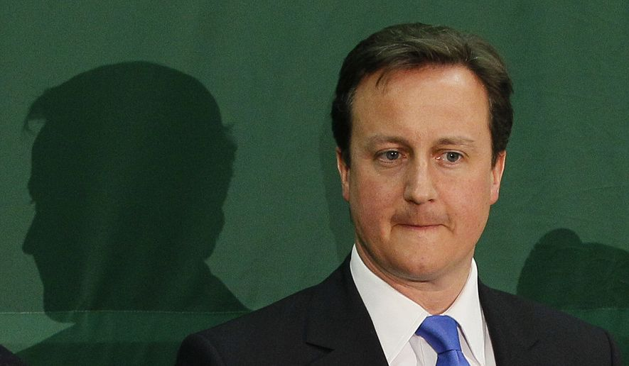 **FILE** British Prime Minister David Cameron (Associated Press)