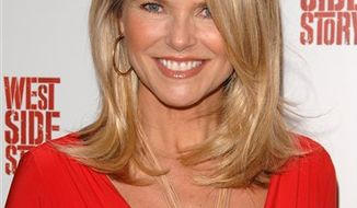 """FILE - In this March 19, 2009 file photo, former model Christie Brinkley attends the opening night of the Broadway musical """"West Side Story"""" at The Palace Theatre, in New York.  (AP Photo/Peter Kramer, file)"""