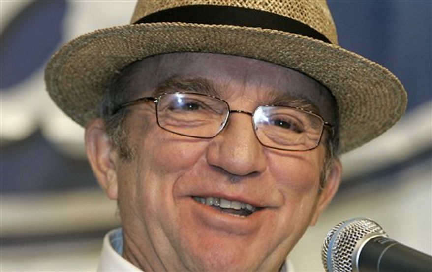 FILE - In this Jan. 24, 2008 file photo, NASCAR team owner Jack Roush speaks during the NASCAR Sprint Cup Media Tour in Concord, N.C.  Roush is in serious but stable condition after walking away from a plane crash in Wisconsin on Tuesday night July 27, 2010.  Roush, an aviation buff, was attending the Experimental Aircraft Association's annual AirVenture in Oshkosh, Wis., this week. (AP Photo/Chuck Burton, File)