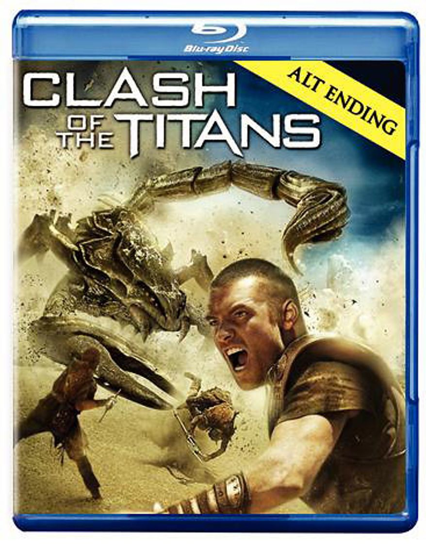 Clash of the Titans from Warner Home Video for Blu-ray