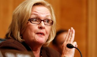 **FILE** Sen. Claire McCaskill, Missouri Democrat (Associated Press)