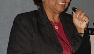 ** FILE ** An undated photo provided by the U.S. Department of Agriculture shows USDA official Shirley Sherrod. (AP Photo/United States Department of Agriculture)