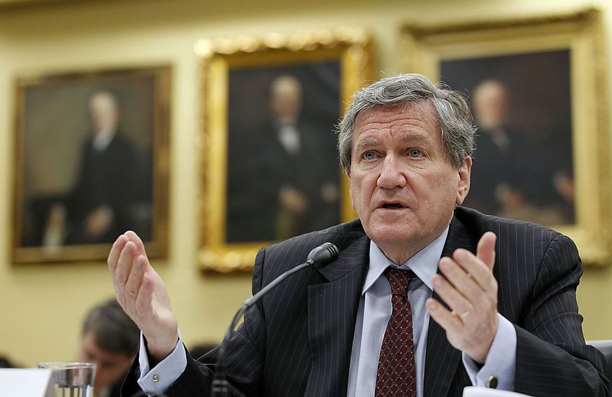 Richard Holbrooke, Special Representative for Afghanistan and Pakistan, testifies on Capitol Hill in Washington Wednesday, July 28, 2010, before the House State and Foreign Operations subcommittee hearing on the oversight of U.S. civilian assistance for Afghanistan. (AP Photo/Alex Brandon)
