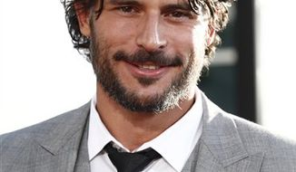 """FILE - In this June 8, 2010 file photo, actor Joe Manganiello arrives at the premiere for third season of HBO's """"True Blood"""" in Los Angeles.  (AP Photo/Matt Sayles)"""
